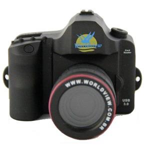 Leitor de Cartão Memória USB 3.0 em Formado de Câmera DSLR