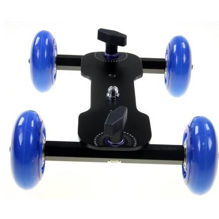 Mini Dolly Skater para Câmeras e Filmadoras