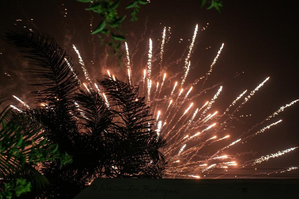 Como fotografar fogo de artifício