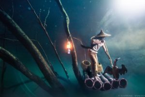 VonWong's Underwater Fisherman in collaboration with Ballentines