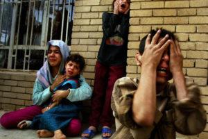 bombardeios no iraque