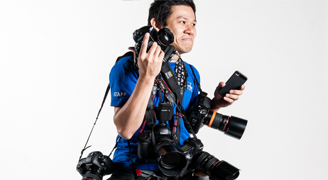 reporter fotografico