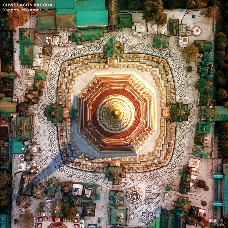 Pagode Shwedagon (Yangon, Myanmar)