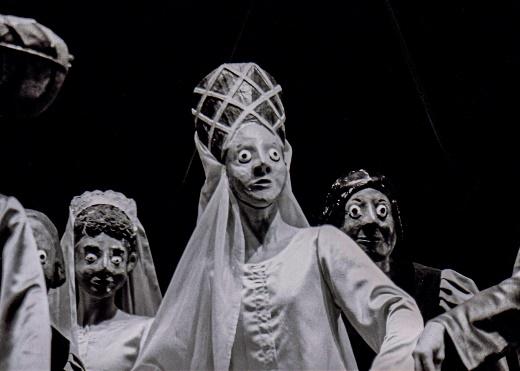 Espetáculo de dança, visão que eu tinha do centro do palco